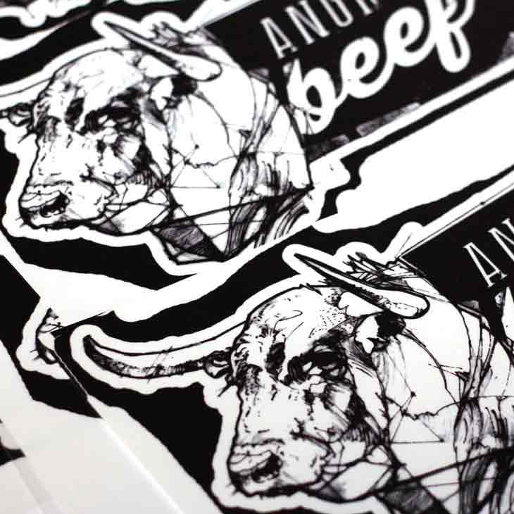 Angrybeef Label